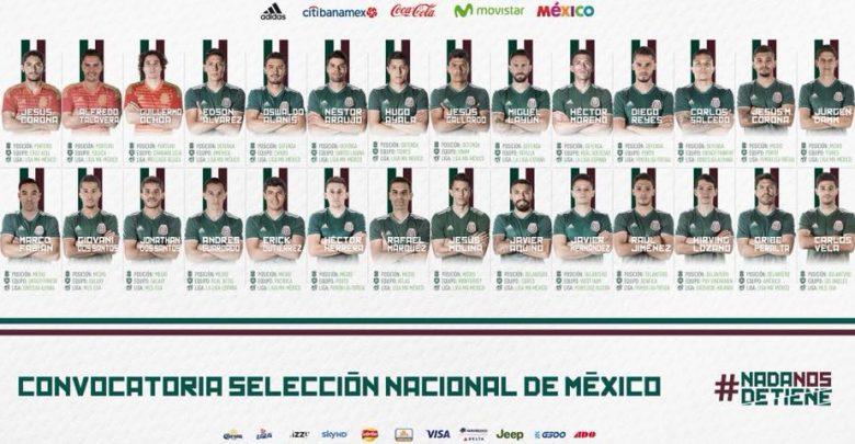 Pre selección mexicana