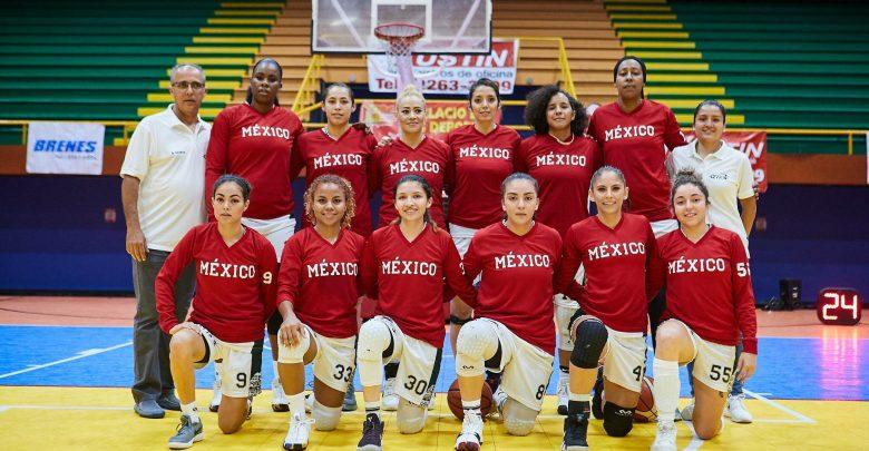 Combinado mexicano conquista Serie Internacional de Basketball Femenino