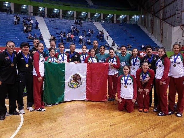 México campeon Centrobasket U17 Femenino 2013