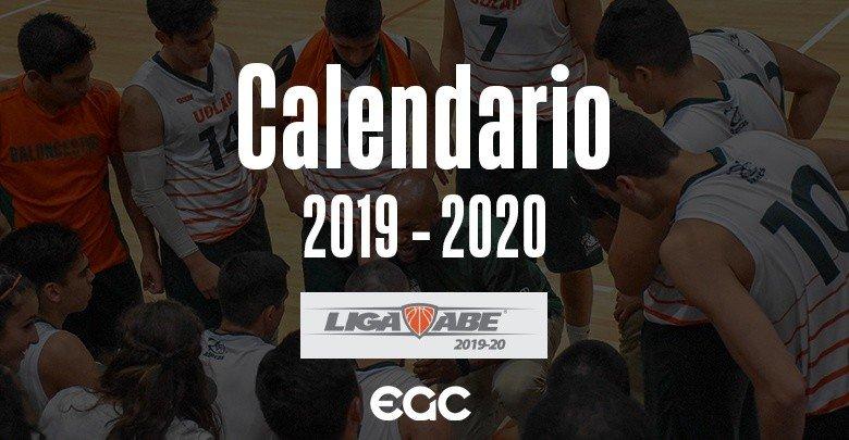 Calendario Oficial - Liga ABE 2019 - 2020