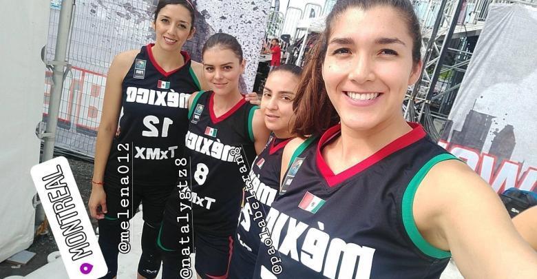 México cayó en la serie femenina 3x3 2019