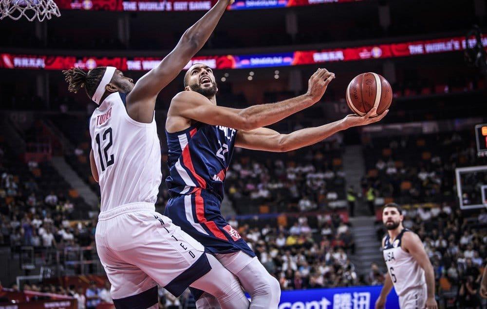 Francia elimina a Estados Unidos del mundial de básquetbol 2