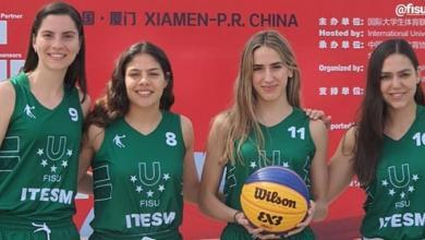 Photo of Borreguitas Monterrey en el mundial 3×3 FISU por México