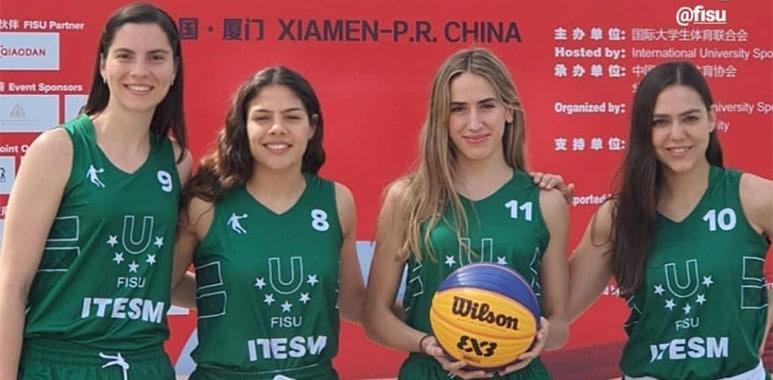Borreguitas Monterrey en el mundial 3x3 FISU por México