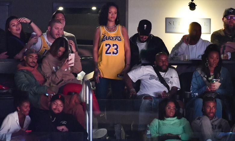Rihanna LeBron James