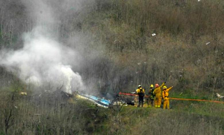 Accidente helicoptero Kobe Bryant