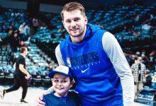 Photo of Luka Doncic cura a un niño con epilepsia sin saberlo