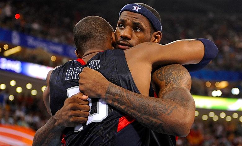 Kobe bryant LeBron James