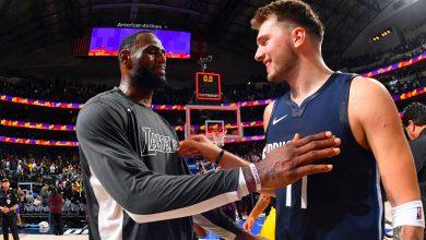 Photo of LeBron James y Luka Doncic lideran votos para juego de estrellas