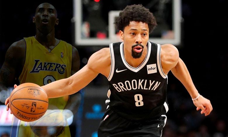 Spencer Dinwiddie cambia su número para honrar a Kobe Bryant