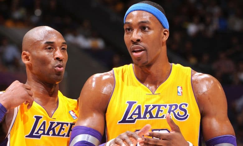 Dwight Howard Kobe Bryant Lakers